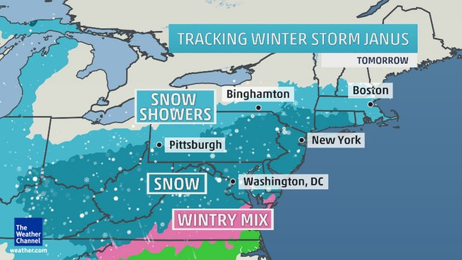 Northeast Expecting travel delays with snowstorm