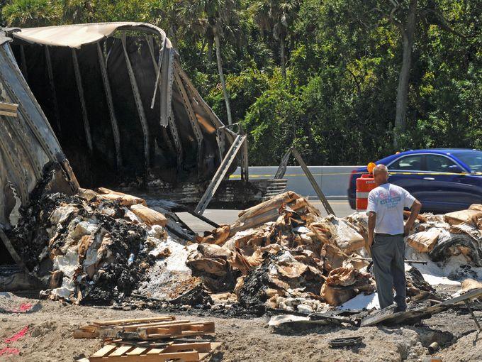 Titusville Truck Crash
