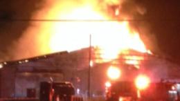 T. J. Leffler Trucking Company Fire