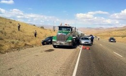Truck Driver Stabbed Interstate 84