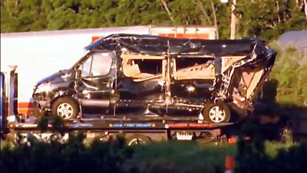 Tracy Morgan Mercedes Van Crashed