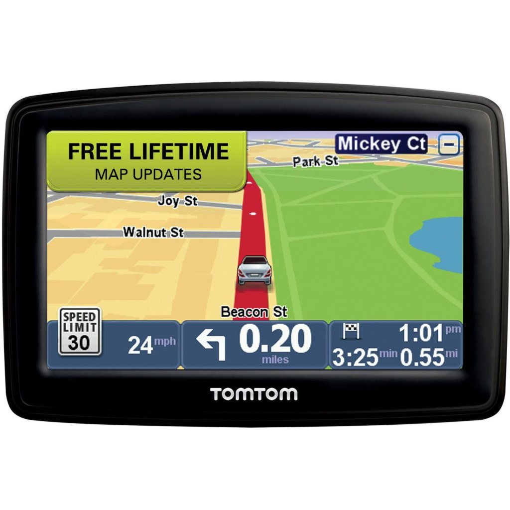 Travel Maps Shop Tomtom Tomtom Gps Navigation Usa Middle Gps Map Of Usa Free