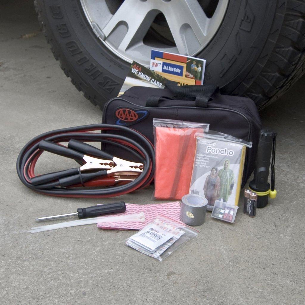 42 Piece AAA Emergency Road Kit