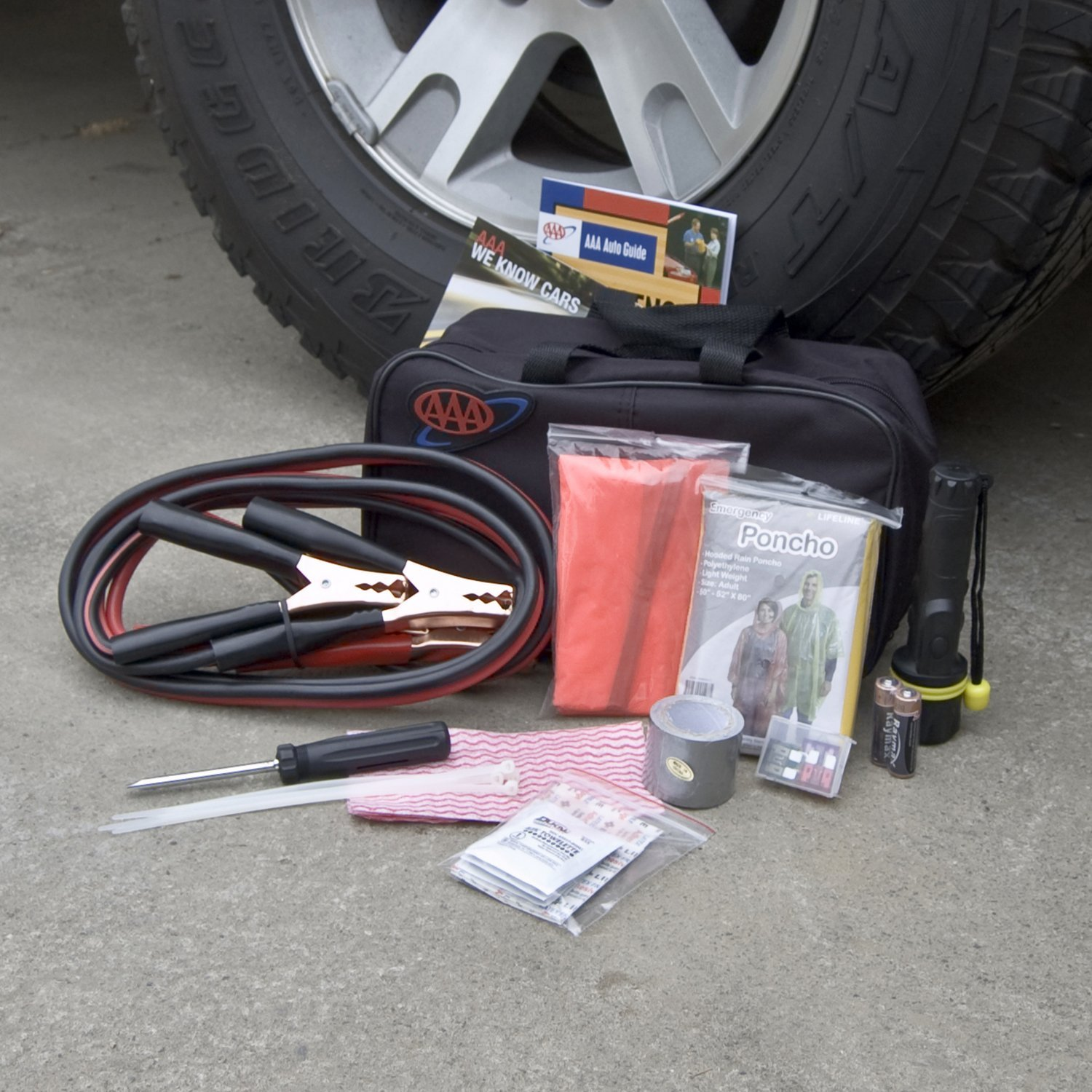 42 Piece AAA Emergency Road Kit