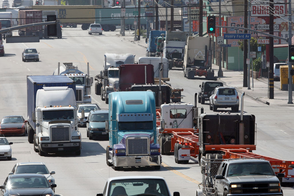 L.A. Port Truck Drivers Strike
