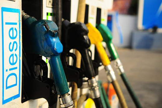 Diesel Prices Drop