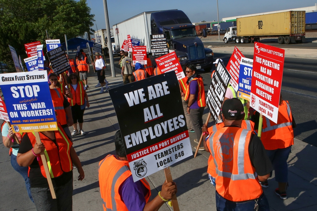 L.A. And Long Beach Port Strike Over