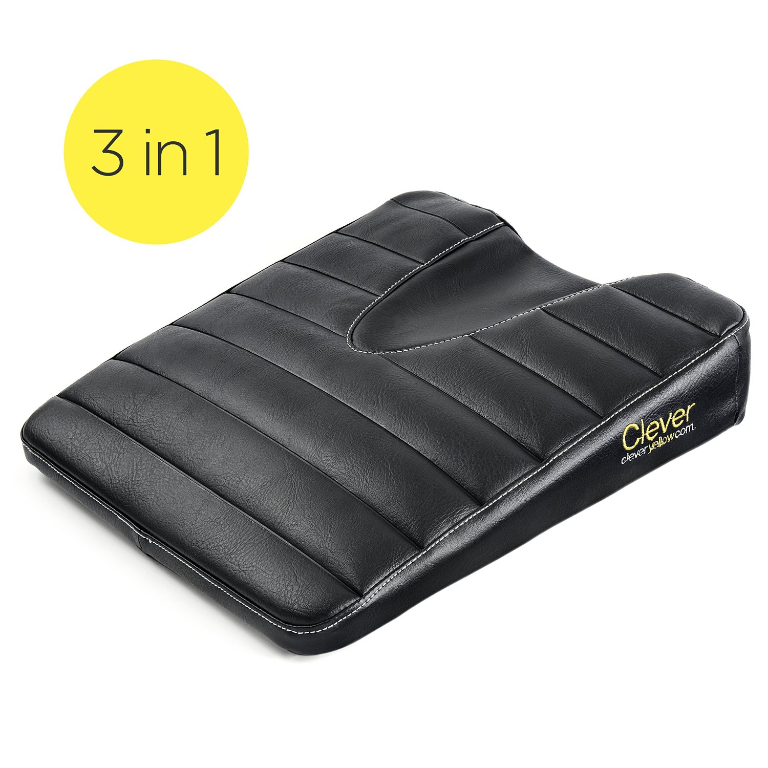 Truck Driver Seat Cushion >> Clever Yellow Stability Seat Driver Cushion
