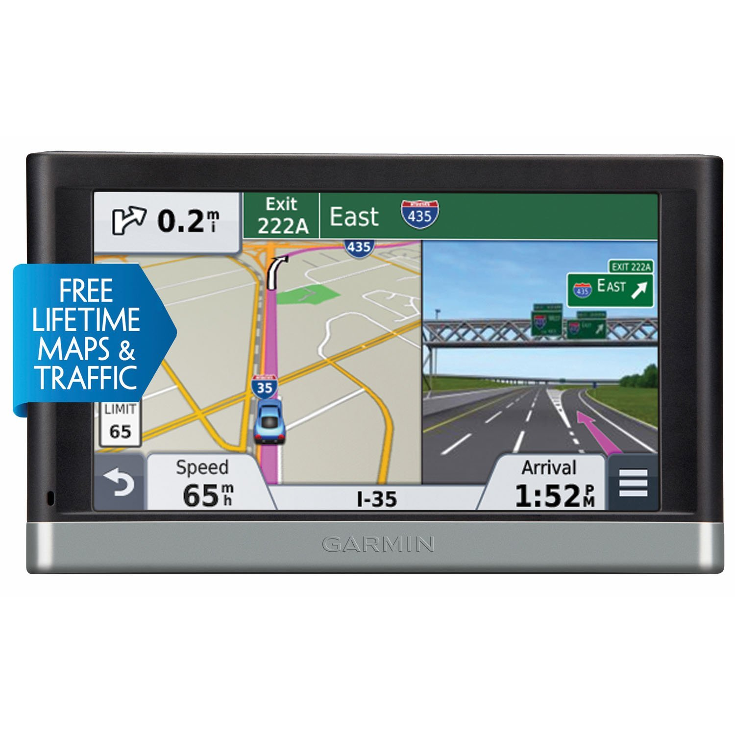Garmin nüvi 2497LMT 4.3-Inch Portable Vehicle GPS