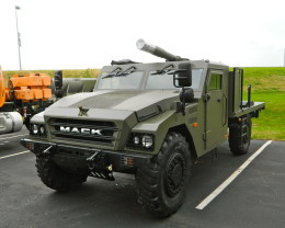Mack Defense To Supply Armed Trucks To Canada