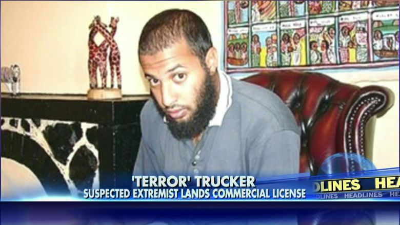 Terror Suspect Gets Trucking License