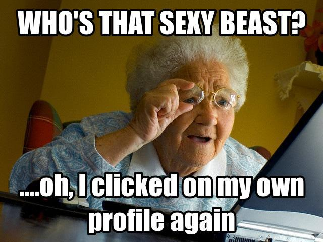 Funny Memes - Who's That Sexy Beast