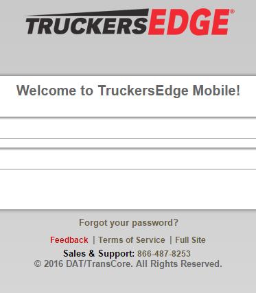 TruckersEdge On Mobile