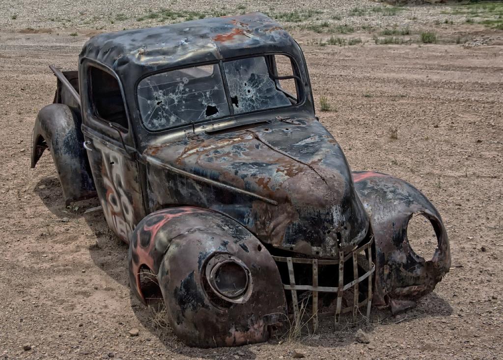 Destroyed Light Truck