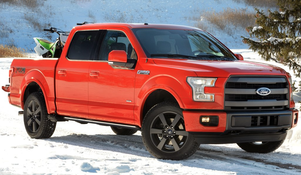 Best Selling Pickup Trucks 2015 March